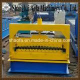 Colorir o rolo ondulado de aço da folha do telhado que dá forma à máquina (AF-R836)