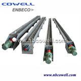 Transportador de tornillo espiral tubular de acero inoxidable duradero