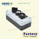 Industrial de 3 agujeros impermeable grúa / polipasto T-2 con interruptor de botón de control