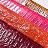 2016高品質のワニによって浮彫りにされる家具の革