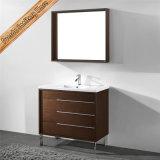 Grosser Hotel-Art-Badezimmer-Eitelkeits-festes Holz-Badezimmer-Schrank der Größen-Fed-1230