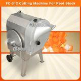Cortador/batata do cubo do abacaxi do vegetal de raizes do processador da fruta que corta a máquina do Slicer (FC-312)