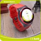 3G komt met het Androïde GSM van de Kaart van WiFi Bluetooth SIM van Systeem 5.1 GPS van het Tarief van het Hart van de Pedometer Horloge van de Telefoon van de Cel