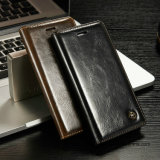 Роскошное кожаный вспомогательное оборудование телефона iPhone аргументы за сотового телефона бумажника