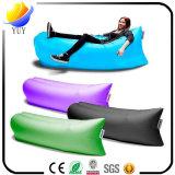 Im Freien bewegliches Schlafsack-faltendes Luft-Sofa-Bett-faules Sofa