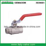 Le laiton italien de Ce&ISO a modifié le robinet à tournant sphérique femelle (AV-BV-1043)