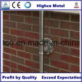 Corchete de pared oblongo para el pasamano, la barandilla y la barandilla de cristal