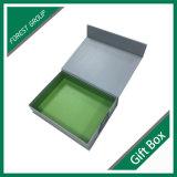 Магнитная картонная коробка упаковывая с Silk тканью