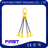 G80 4本の足を搭載する鋼鉄チェーン吊り鎖