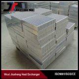 Base de aluminio de cambiador de calor de la aleta de la placa