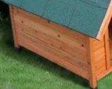 Дом любимчика псарни напольной собаки сада деревянная