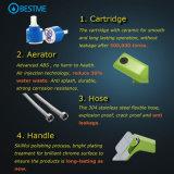 Miscelatore del bacino della stanza da bagno della maniglia 304ss di qualità di disegno moderno singolo (BMS-B1002)