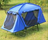 Im Freien kampierendes faltendes Königin-Größen-Bett-Zelt