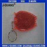 Keychain反射堅いPVC (JG-T-04)