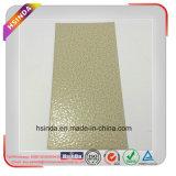 Textura amarilla blanca del martillo que adorna la capa interior del polvo de la pintura del polvo