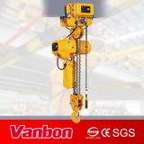 tipo motorizado 3ton alzamiento de cadena eléctrico de la carretilla con límite de la sobrecarga