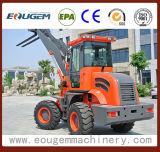Mini caricatore agricolo della rotella anteriore Zl16 con il motore Euro3 di Xinchai