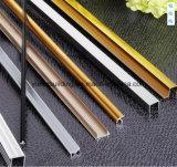 Perfil de alumínio para o canto da telha