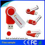 Mecanismo impulsor de destello del USB 2.0 verdaderos del eslabón giratorio de la capacidad de la alta calidad el 100%