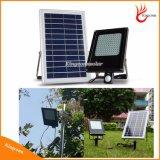 15W 120 LED LED solare esterno illumina i proiettori solari chiari del giardino con il sensore di movimento di PIR