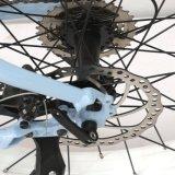 4.0 polegadas 250W gordura pneu F / R Dsic freio elétrico suspensão garfo China Feita MID Motor Mountain Bike para venda