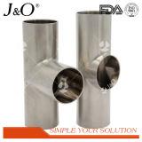 衛生ステンレス鋼の管継手の管付属品クランプティー