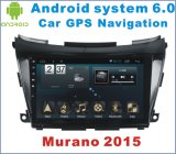 Lettore DVD dell'automobile del Android 6.0 per Nissan Murano 2015 con percorso di GPS dell'automobile