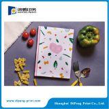 Impression colorée de livre de papier pour la nourriture