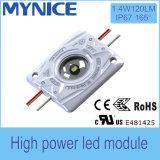 Módulo aprovado IP67 do diodo emissor de luz do poder superior 2.8W do brilho elevado de RoHS do Ce