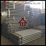 Q235 pintado, apoyos de acero pintados, galvanizados electroforéticos del apuntalamiento