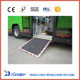 セリウムの証明書が付いているバスのためのローディングの車椅子の傾斜路の電動車椅子の傾斜路
