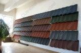 カラー上塗を施してある金属の屋根瓦か石造りの上塗を施してある金属の屋根瓦