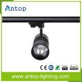 Alta CRI 90 Negro COB LED Track Iluminación
