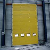 Porte rapide d'obturateur de roulement de porte sectionnelle industrielle