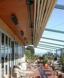 Special elétrico revestido cerâmico fixado na parede do dispositivo de aquecimento de Jh para o restaurante, o café e o hotel (JH-NR10-13A)