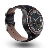 心拍数のモニタが付いているOEM Andriod 5.1 3G WiFiのスマートな腕時計