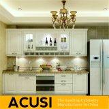 Het in het groot Hete Verkopende Lineaire Meubilair van de Keuken van de Keukenkast van de Stijl Stevige Houten (ACS2-W30)