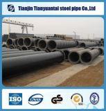 Línea soldada tubo de acero del espiral hueco de acero de la sección del API 3PE Fbe para el gas de agua