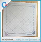 Painel de teto de PVC 595mm e 603mm quadrado Placa de teto