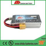 bateria do zangão de Fpv do polímero do lítio de 1800mAh 11.1V 40c