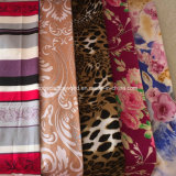 tissu estampé par dispersion de 100%Polyester 90GSM288f pour le textile à la maison