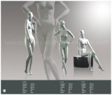 Mannequin fêmea moderno para o indicador das roupas