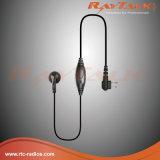 L'oreille de talkie-walkie bourgeonne l'écouteur avec les PTTs intégrées pour Motorola Cp040/Gp300
