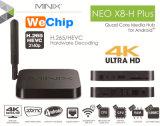 Minix neo X8h più la casella di Ott TV del Android 4.4