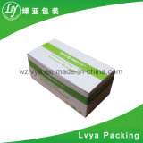 La coutume a estampé les cartons d'expédition de empaquetage ondulés cirés de boîtes en carton