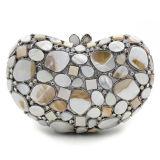Bolsos de tarde hermosos vendedores calientes de señora Rhinestone Crystal del bolso de Clucth Leb755