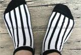 Black&Whiteの簡単な縞の余暇様式のソックス