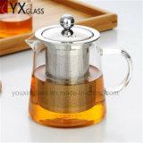 Бак чая термостойкого стекла высокого качества с комплектом чайника Carafe воды чайника чая цветка стрейнера нержавеющей стали гремя стеклянным