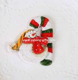Magnete 2016 del frigorifero della resina di disegno del Babbo Natale degli ornamenti di natale per la promozione (YH-RFM017)