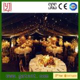 Boutique de banquets de luxe 20X50m pour fête de mariage de luxe avec décoration